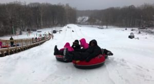 This Epic Snow Tubing Hill Near Detroit Will Give You The Winter Thrill Of A Lifetime