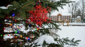 Christmas In These 6 Towns Near Buffalo Looks Like Something From A Hallmark Movie