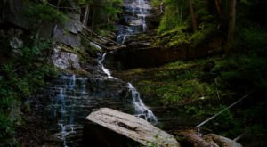 The Vermont Trail That Leads To A Stairway Waterfall Is Heaven On Earth