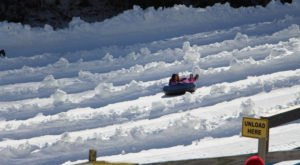 North Carolina Is Home To The Country's Most Underrated Snow Tubing Park And You'll Want To Visit