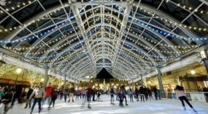 Skate Under A Canopy Of Christmas Lights At This Magical Rink In Virginia