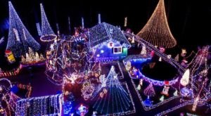 This Winter Wonderland Has The Most Spellbinding Lights Display In All Of Connecticut