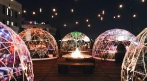 Hang Out In An Igloo At This Awesome Rooftop Bar In Nashville