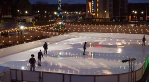 This New 9,000 Square Foot Ice Skating Rink Near Cincinnati Is Perfect For Making Winter Memories