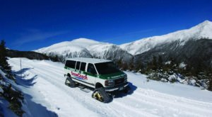The Highest Road In New Hampshire Will Lead You On An Unforgettable Winter Journey
