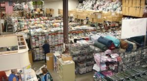 The Massive Fabric Warehouse In Minnesota, SR Harris Fabric Outlet, Is A Crafter's Dream Come True