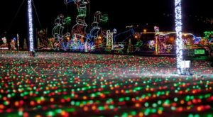This Holiday Light Road Trip In Louisiana Is Perfect For The Entire Family