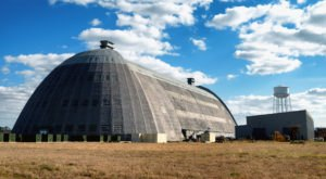 One Of The Last WWII Blimp Hangars Is Right Here In North Carolina And It's So Worth A Visit