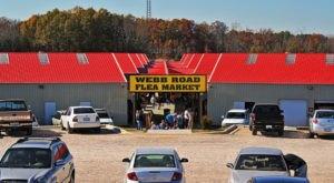 6 Winter Flea Markets In North Carolina To Enjoy All Season Long