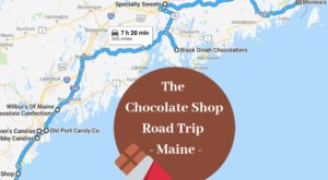 The Sweetest Road Trip in Maine Takes You To 9 Old School Chocolate Shops