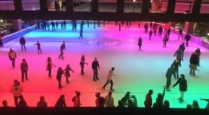 The Most Magical Ice Skating Experience Of The Winter Is In Indiana