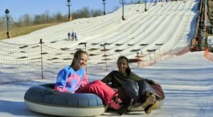 The Country's Most Underrated Snow Tubing Park In Indiana Is Paoli Peaks And It's A Blast To Visit