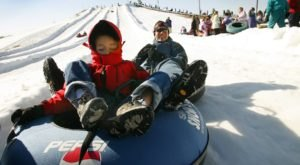 Illinois Is Home To The Country's Best Snow Tubing Park And You'll Want To Visit