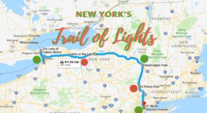 Everyone Should Take This Spectacular Holiday Trail Of Lights In New York This Season