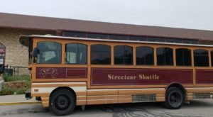 This Haunted Trolley Tour In Kansas Will Take You Somewhere Absolutely Terrifying