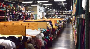 The Massive Fabric Warehouse In Massachusetts, Osgood Textile Company, Is A Crafter's Dream Come True