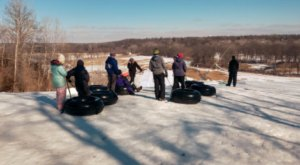 Iowa Is Home To The Country's Most Underrated Snow Tubing Park And You'll Want To Visit