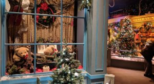 The Vintage Christmas Village In Massachusetts That's A Whimsical Piece Of The Past