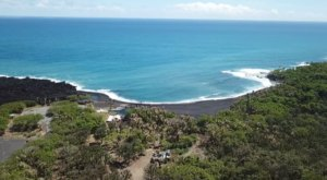 Hawaii's Newest Black Sand Beach Is Just Begging To Be Visited