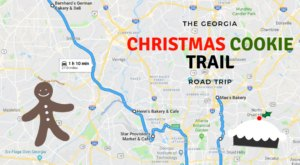 The Christmas Cookie Trail In Georgia Is The Holiday Road Trip Of Your Dreams