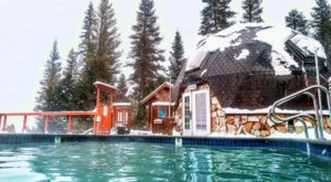 Watching Snow Fall From This One Hot Spring Resort In Northern California Is Basically Heaven
