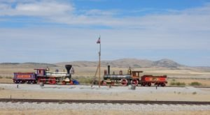 The Whole World Watched This Railroad Make History Right Here In Utah