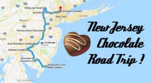 The Sweetest Road Trip in New Jersey Takes You To 9 Old School Chocolate Shops
