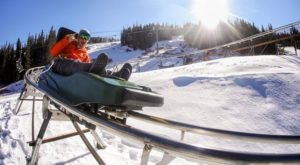 The Winter Coaster In Colorado That Will Take You Through A Snowy Mountain Wonderland