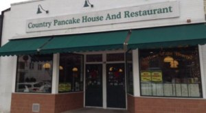 The Pancakes At This New Jersey Restaurant Are So Gigantic They Fall Off The Plate
