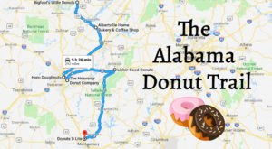 Take The Alabama Donut Trail For A Delightfully Delicious Day Trip