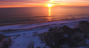A Drone Flew Over The Jersey Shore And Captured Mesmerizing Footage