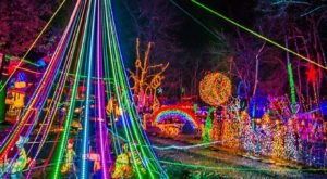The Brightest Christmas Display In New York Has Over 600,000 Lights For Your Enjoyment