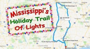 Everyone Should Take This Spectacular Holiday Trail Of Lights In Mississippi This Season