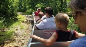 This Mountain Top Miniature Train Ride Through Arkansas Will Absolutely Delight You
