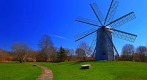 There's A Quirky Windmill Park Hiding Right Here In Rhode Island And You'll Want To Plan Your Visit