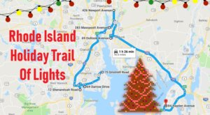 Everyone Should Take This Spectacular Holiday Trail Of Lights In Rhode Island This Season