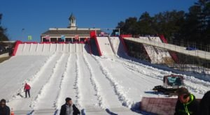 The Country's Most Underrated Snow Tubing Park In Georgia Is Snow Mountain And It's A Blast To Visit