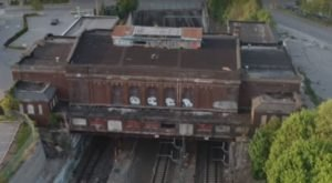 Drone Footage Captured At This Abandoned Rhode Island Train Station Is Truly Grim