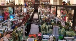 This Indoor Train Park Hiding In Maryland Proves There's Still A Kid In All Of Us