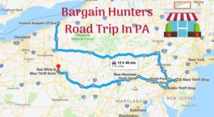 This Bargain Hunters Road Trip Will Take You To The Best Thrift Stores In Pennsylvania