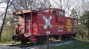 The Rooms At Missouri's Railroad Themed Bed & Breakfast Are Actual Box Cars