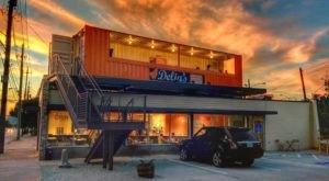 Dine In A Converted Shipping Container At This One-Of-A-Kind Georgia Restaurant