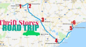 This Bargain Hunters Road Trip Will Take You To The Best Thrift Stores In South Carolina