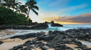 You'll Never Want To Leave This Secret Cove Along The Hawaiian Coast