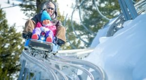 The Winter Coaster In Wyoming That Will Take You Through A Snowy Mountain Wonderland