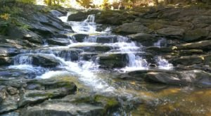 The Massachusetts Trail That Leads To A Stairway Waterfall Is Heaven On Earth