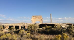 The True Story Behind This Abandoned Nevada Town Reveals That It Never Really Had A Chance
