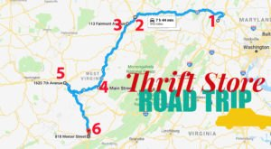 This Bargain Hunters Road Trip Will Take You To The Best Thrift Stores In West Virginia