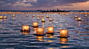 The Water Lantern Festival In Connecticut That's A Night Of Pure Magic
