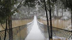 Virginia's Upside Down Swinging Bridge Is An Adventure That Everyone Will Love